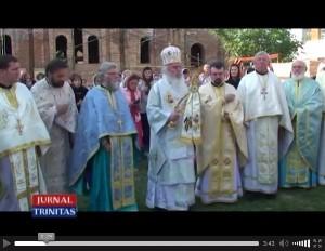 Hramul bisericii ucrainiene din Timisoara, 30.08.2015