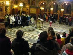 View The Colindători la Catedrală Album